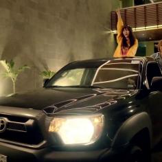 Il est pas mal ce pick-up Toyota dites donc.