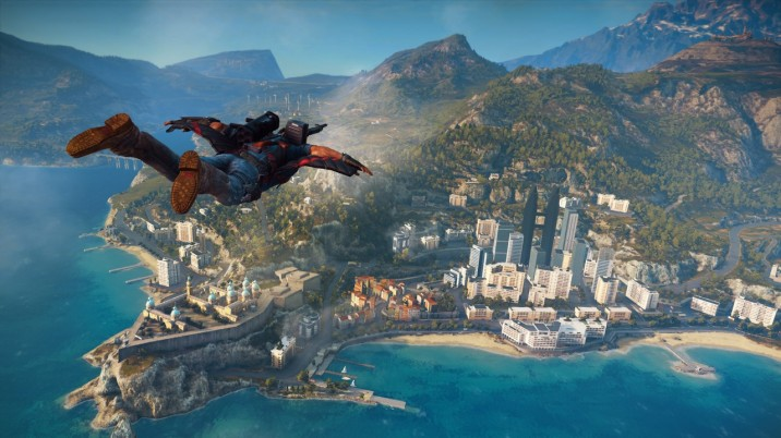 Just Cause 3, simulateur de balade en wingsuit.