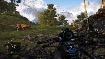 Far Cry 4, où l'on passe plus de temps à chasser qu'à suivre l'histoire.