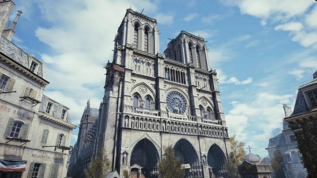 Assassin's Creed Unity, une représentation magnifique des monuments parisiens au détriment du reste.