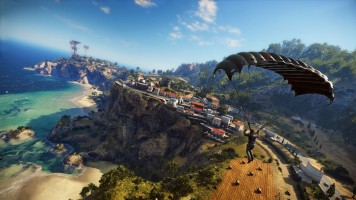 Just Cause 3, simulateur de parachutisme.