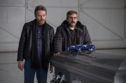 "Bryan Cranston as ""Sal"" and Steve Carell as ""Doc"" in LAST FLAG FLYING."