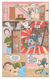 © Zac Gorman, Rick et Morty, T.1, Hi Comics, 2018