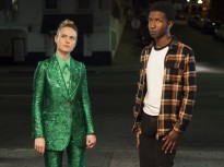 Brie Larson and Mamoudou Athie see some interesting stuff (and she wears some pretty great outfits) inUnicorn Store