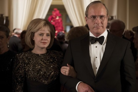 Amy Adams (left) as Lynne Cheney and Christian Bale (right) as Dick Cheney in Adam McKay's VICE, an Annapurna Pictures release. Credit : Matt Kennedy / Annapurna Pictures 2018 © Annapurna Pictures, LLC. All Rights Reserved.